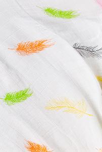 绵柔浴巾 · 羽毛