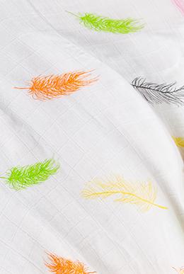 透气云毯 · 羽毛