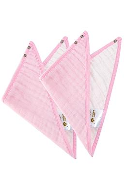 纯棉三角口水巾