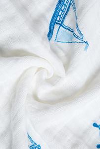 绵柔浴巾 · 小帆船